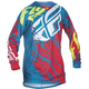 Youth Teal/Red Kinetic Relapse Jersey