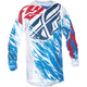 Youth Red/White/Blue Kinetic Relapse Jersey