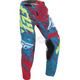 Youth Teal/Red Kinetic Relapse Pants