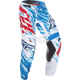 Youth Red/White/Blue Kinetic Relapse Pants