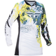 Youth Girl's Teal/Yellow Kinetic Jersey