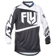 Youth Black/White F-16 Jersey