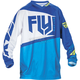 Youth Blue/Hi-Vis F-16 Jersey