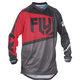 Youth Red/Black/Gray F-16 Jersey