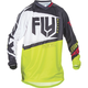 Youth Black/Lime F-16 Jersey