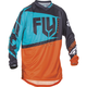 Youth Orange/Teal F-16 Jersey