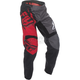 Youth Red/Black/Gray F-16 Pants