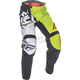Youth Black/Lime F-16 Pants
