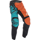 Youth Orange/Teal F-16 Pants