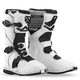 Youth White Maverik Boots