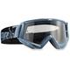 Steel/Black Conquer Goggles - 2601-1930