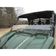 Two-Side Hard Coated Polycarbonate Half Windshield - 25016