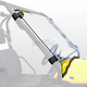 Clear Full-Tilting Windshield - 2760