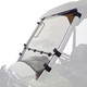 Clear Full-Tilting Windshield - 2900