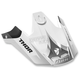 White/Gray Verge Visor Kit - 0132-1006