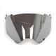 Silver Mirror Replacement Shield for Fly Racing Trekker Helmet - 73-31353