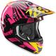 Magenta Verge Dazzle Helmet