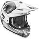 White/Gray Verge Vortech Helmet