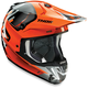 Orange/Gray Verge Vortech Helmet