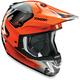 Orange/Gray Verge Vortech Helmet