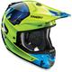 Green/Navy Verge Vortech Helmet