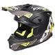 Black/Hi-Vis/Charcoal Blade Vertical Helmet