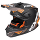 Black/Orange/Charcoal Blade Vertical Helmet