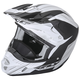 Matte White/Black Kinetic Pro Cold Weather Helmet