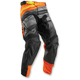 Black/Orange Pulse Velow Pants