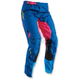 Blue/Pink Womens Pulse Facet Pants