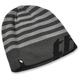 Charcoal/Black Rutts Ribbed Beanie - 2501-2508