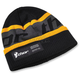 Black/Yellow Race Ribbed Beanie - 2501-2510