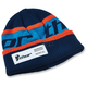 Navy/Orange Race Ribbed Beanie - 2501-2511