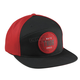 Black/Red Archie Curved Snapback Hat - 2501-2522