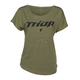 Womens Olive Roost Dolman T-Shirt