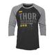 Black Objective 3/4 Sleeve Shirt