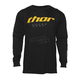Black Long Sleeve Charger Shirt