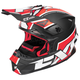 Black/Red/White Blade Clutch Helmet