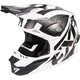Black/White/Charcoal Blade Throttle Helmet