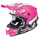 Electric Pink/White/Black Blade Clutch Helmet