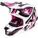 Fuchsia/White/Black Blade Throttle Helmet