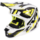 Hi-Vis/White/Black Blade Throttle Helmet