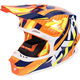 Orange/Navy/Hi-Vis Blade Throttle Helmet