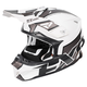 White/Charcoal/Black Blade Clutch Helmet