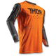 Flo Orange/Grey Prime Fit Rohl Jersey