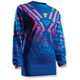 Womens Blue/Pink Pulse Facet Jersey