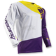 White/Purple Fuse Air Pinon Jersey