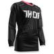 Womens Black/Pink Terrain Contour Jersey