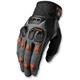 Charcoal/Orange Defend Gloves