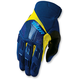 Navy/Yellow Rebound Gloves